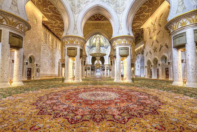 جامع الشيخ زايد الكبير ابو ظبى (1)