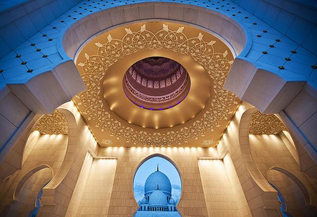 جامع الشيخ زايد الكبير ابو ظبى (12)