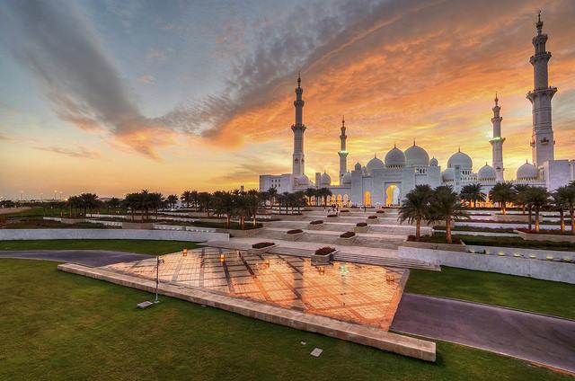 جامع الشيخ زايد الكبير ابو ظبى (15)