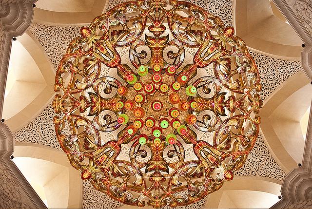 جامع الشيخ زايد الكبير ابو ظبى (2)