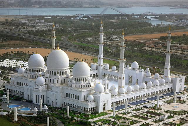 جامع الشيخ زايد الكبير ابو ظبى (5)