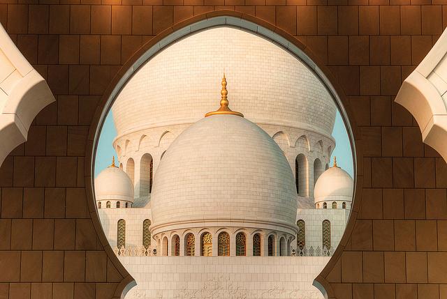 جامع الشيخ زايد الكبير ابو ظبى (6)