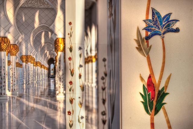 جامع الشيخ زايد الكبير ابو ظبى (7)