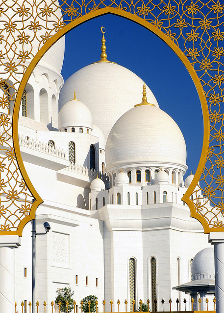 جامع الشيخ زايد الكبير ابو ظبى (8)