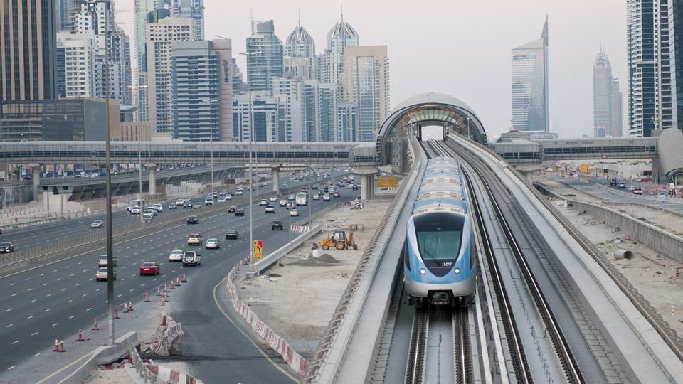 مترو دبى - dubai metro (100)