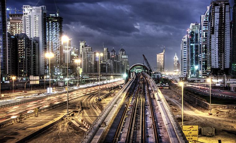 مترو دبى - dubai metro (101)