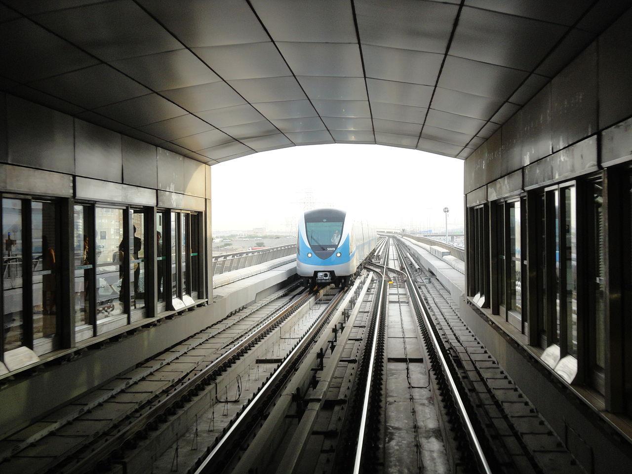 مترو دبى - dubai metro (102)