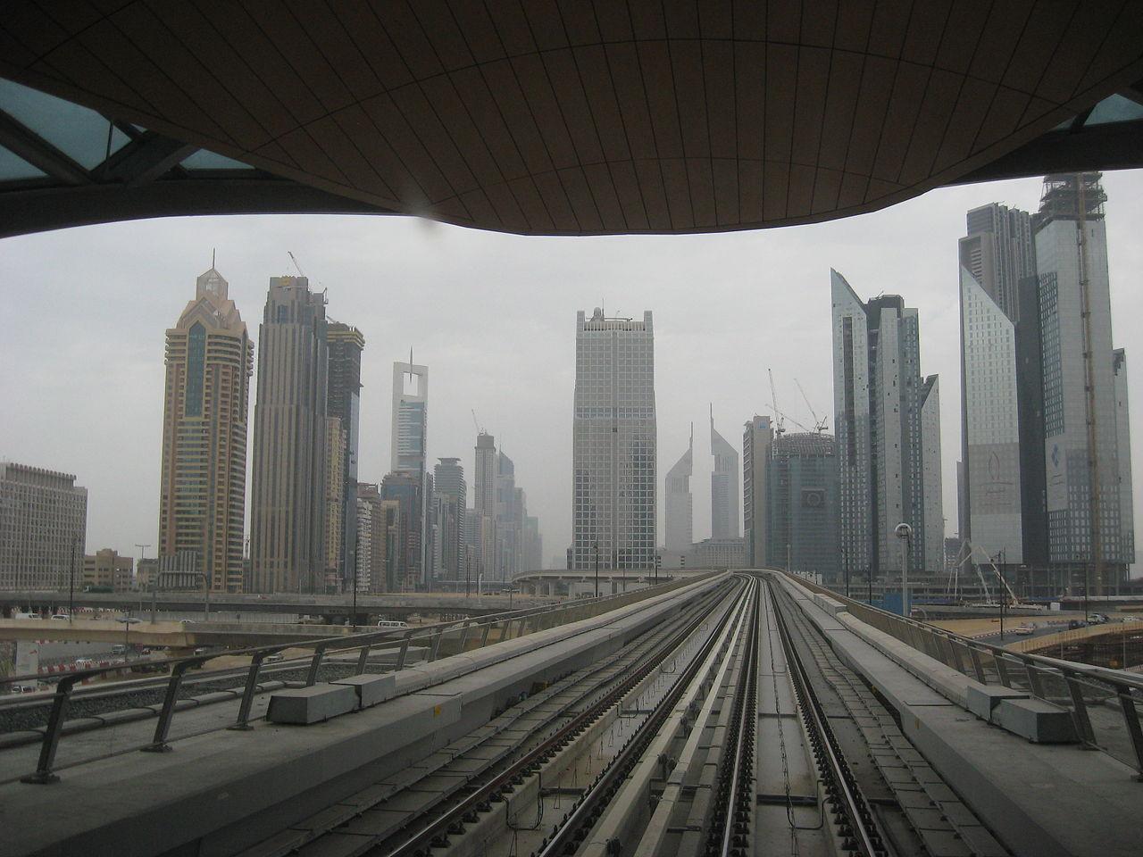 مترو دبى - dubai metro (105)