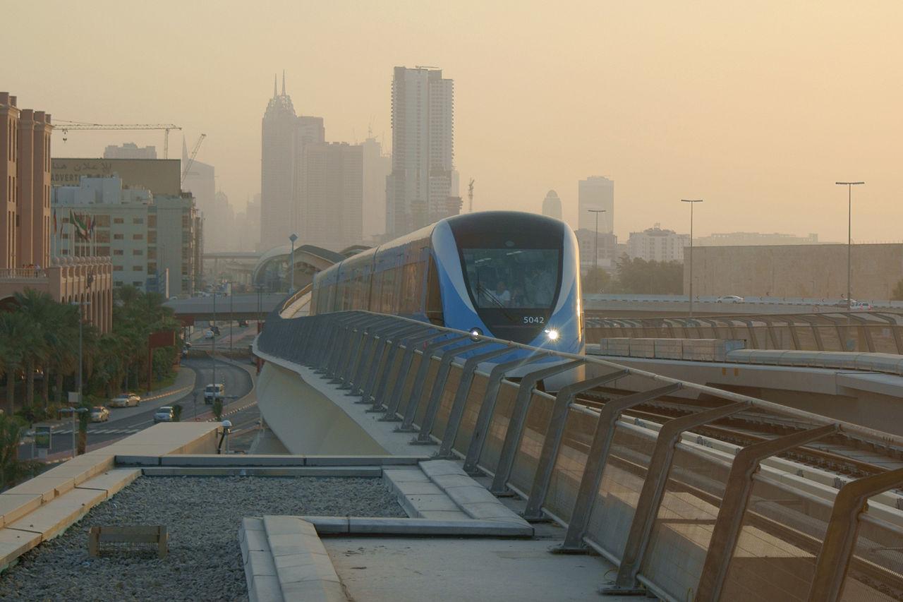 مترو دبى - dubai metro (11)