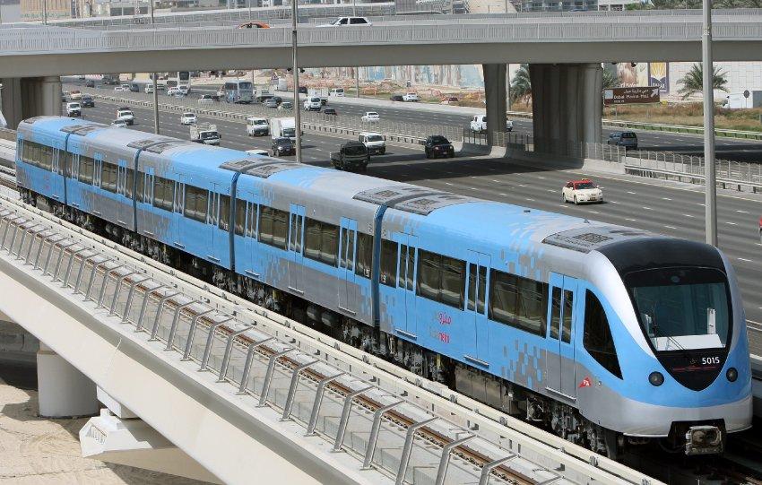 مترو دبى - dubai metro (12)