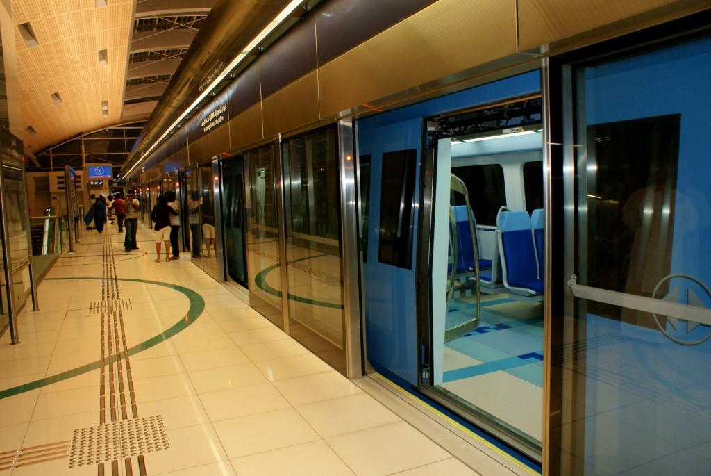 مترو دبى - dubai metro (2)