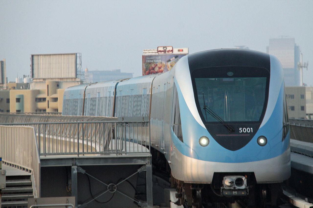 مترو دبى - dubai metro (3)