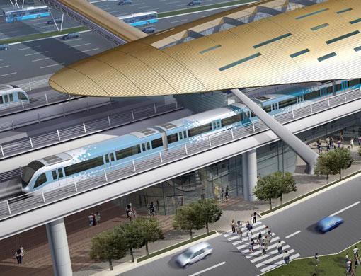 مترو دبى - dubai metro (34)
