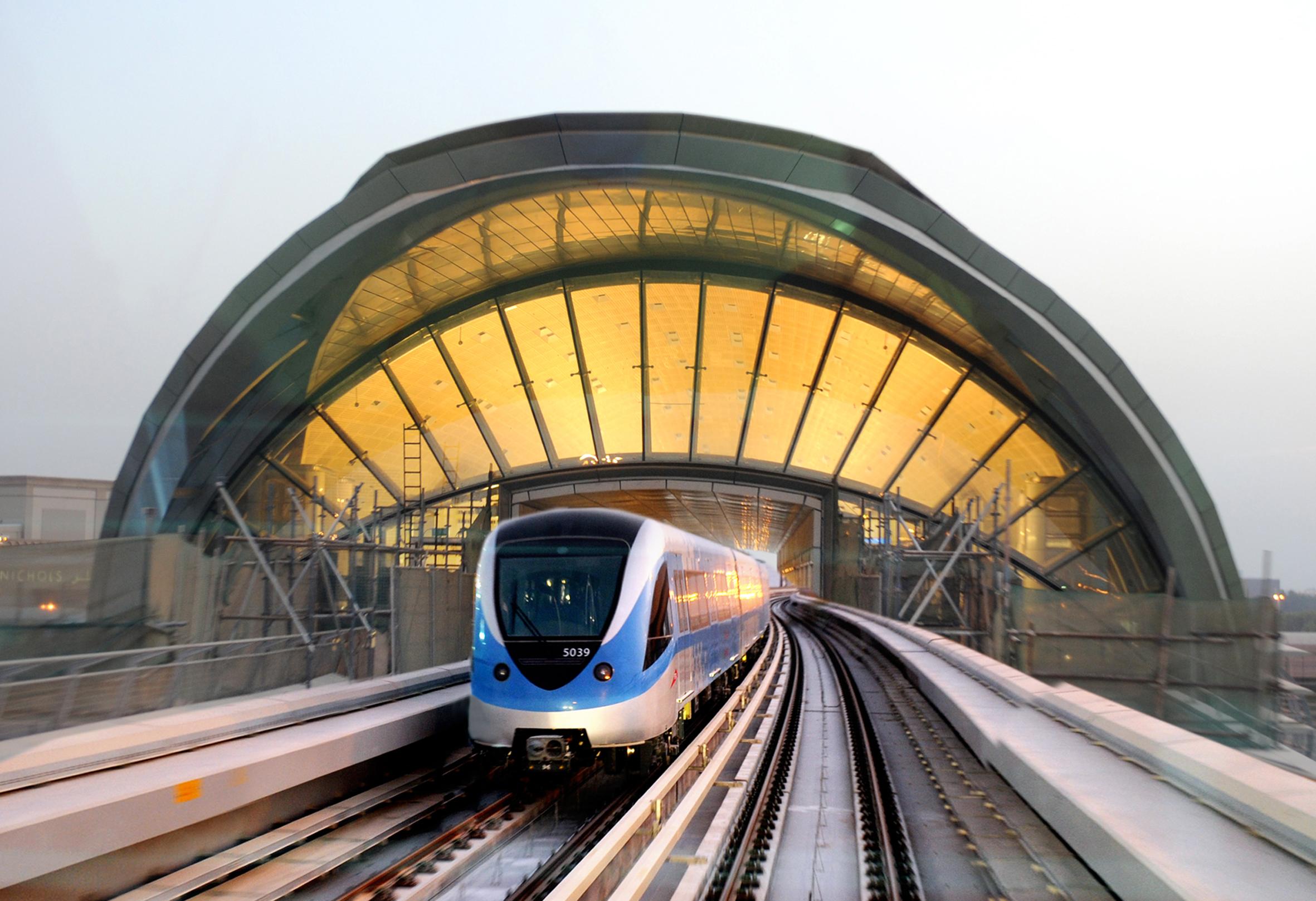 مترو دبى - dubai metro (64)