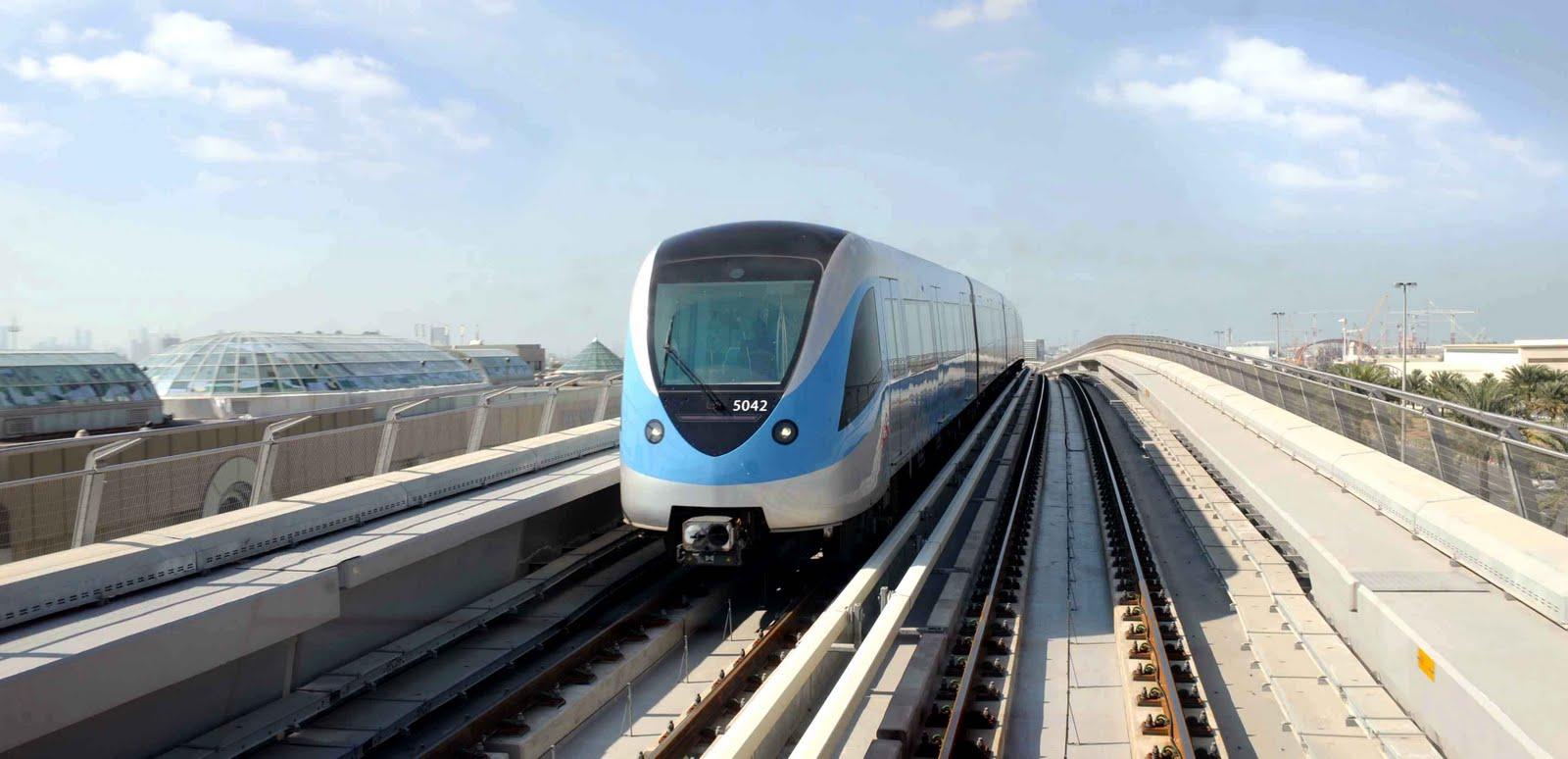مترو دبى - dubai metro (7)