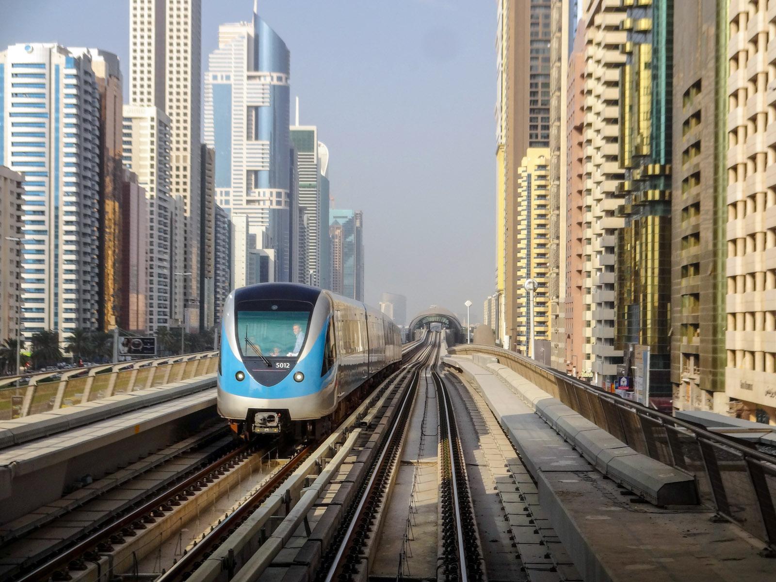 مترو دبى - dubai metro (81)
