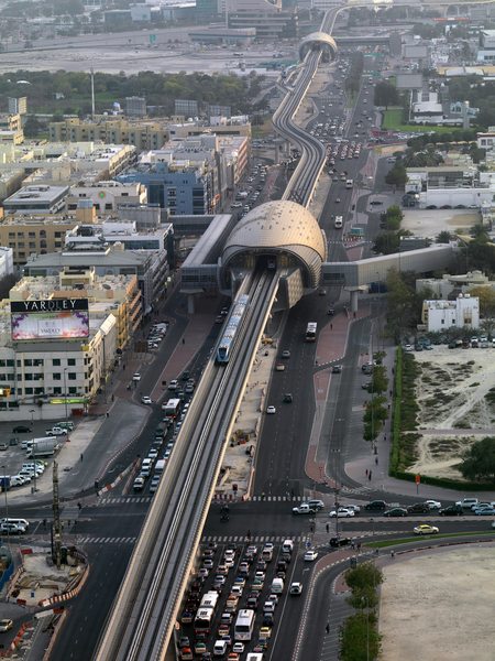 مترو دبى - dubai metro (83)