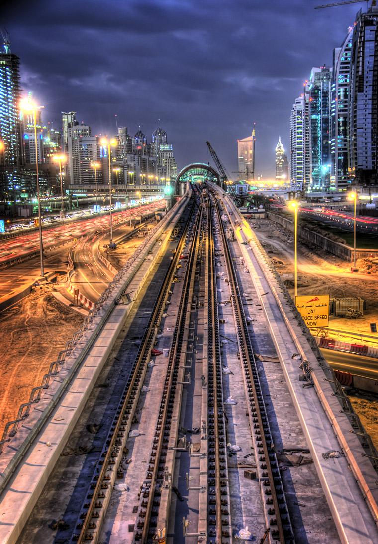 مترو دبى - dubai metro (84)