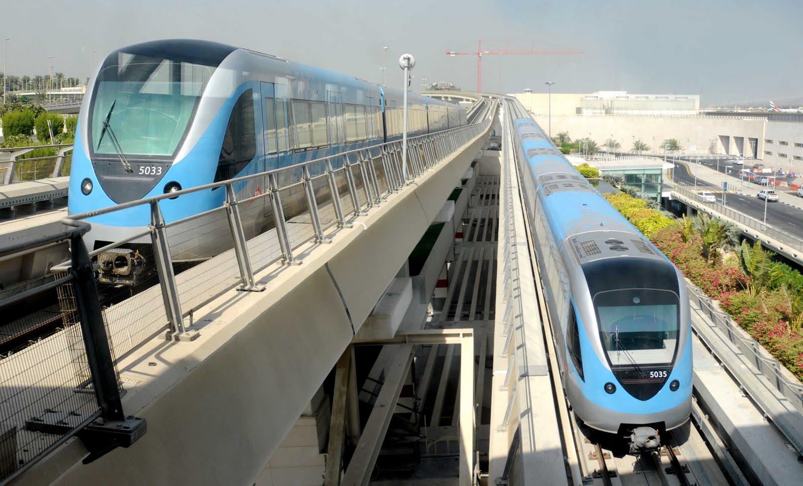 مترو دبى - dubai metro (97)