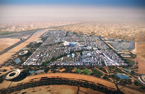 مدينة مصدر ابو ظبى
