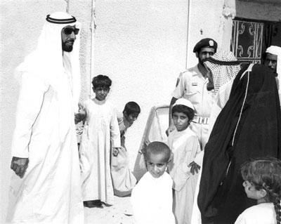 الشيخ زايد بن سلطان ال نهيان (13)