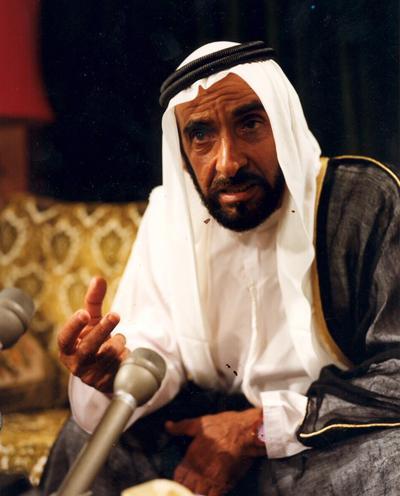 الشيخ زايد بن سلطان ال نهيان (5)