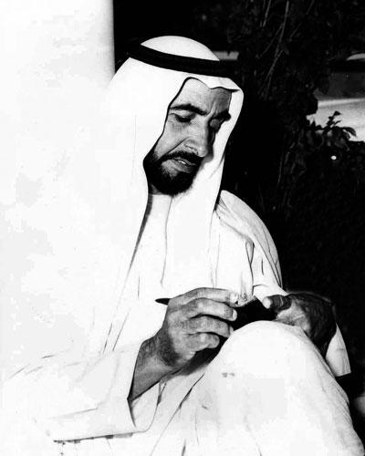 الشيخ زايد بن سلطان ال نهيان (7)