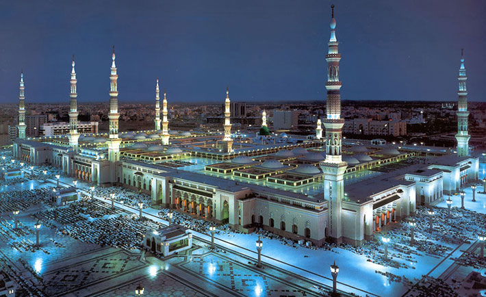 صورة ارخص رحلات طيران من دبى الى المدينة المنورة