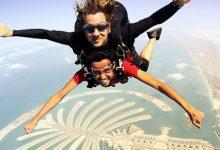 صورة القفز بالمظلات في دبي