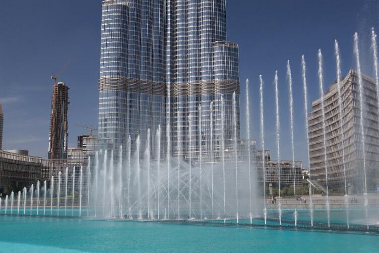 نافورة دبي الراقصة 2